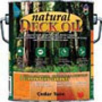 Biowash Natural Deck Oil 1 Gallon