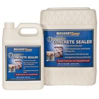 MasonrySaver Decorative Concrete Sealer 1 Gallon