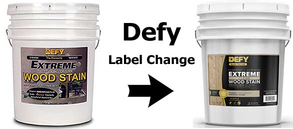 Defy Extreme 5 Gallon Label Change