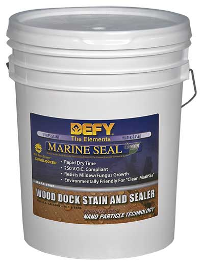 Defy Marine Seal Wood 5 Gallon