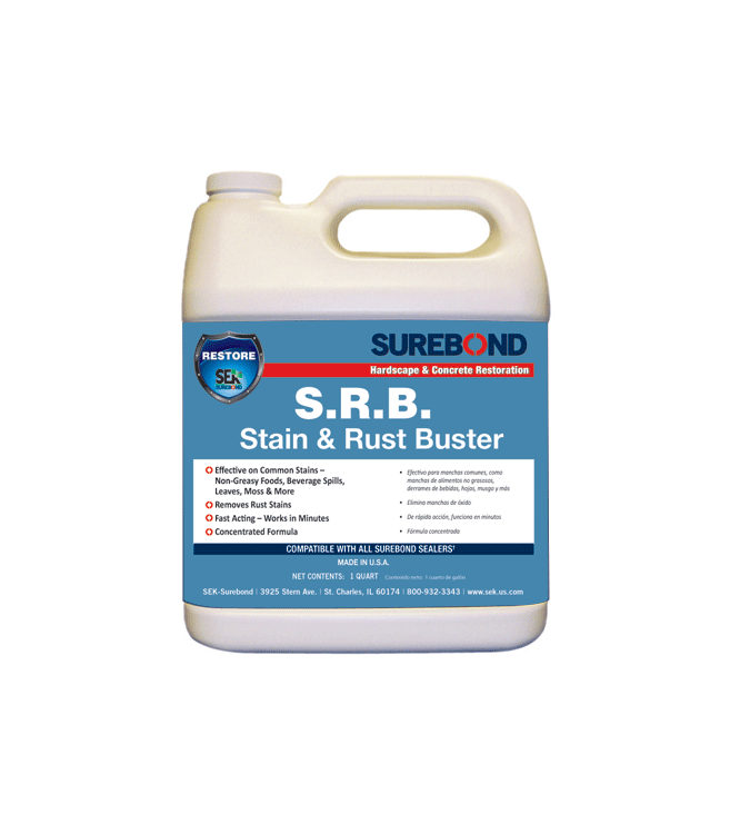 S.R.B. Stain & Rust Buster Quart