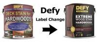 Defy Hardwood Stain 1 Gallon